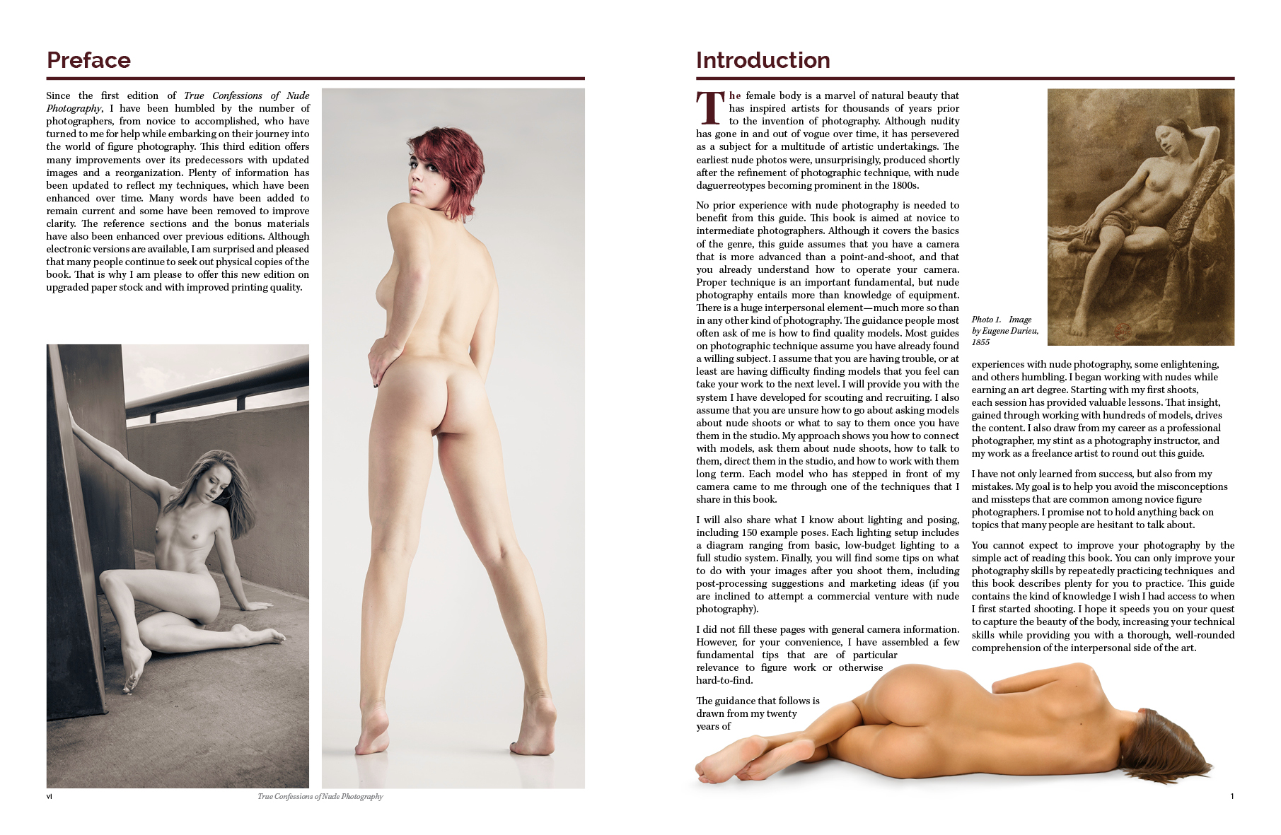 Learn nude photography instructional book