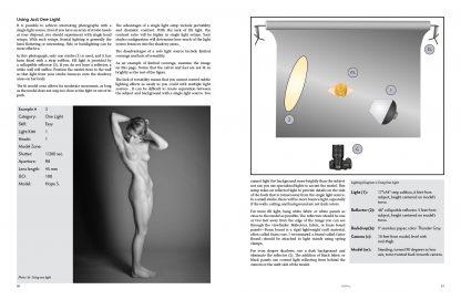 Learn nude photography instructional book studio lighting diagram