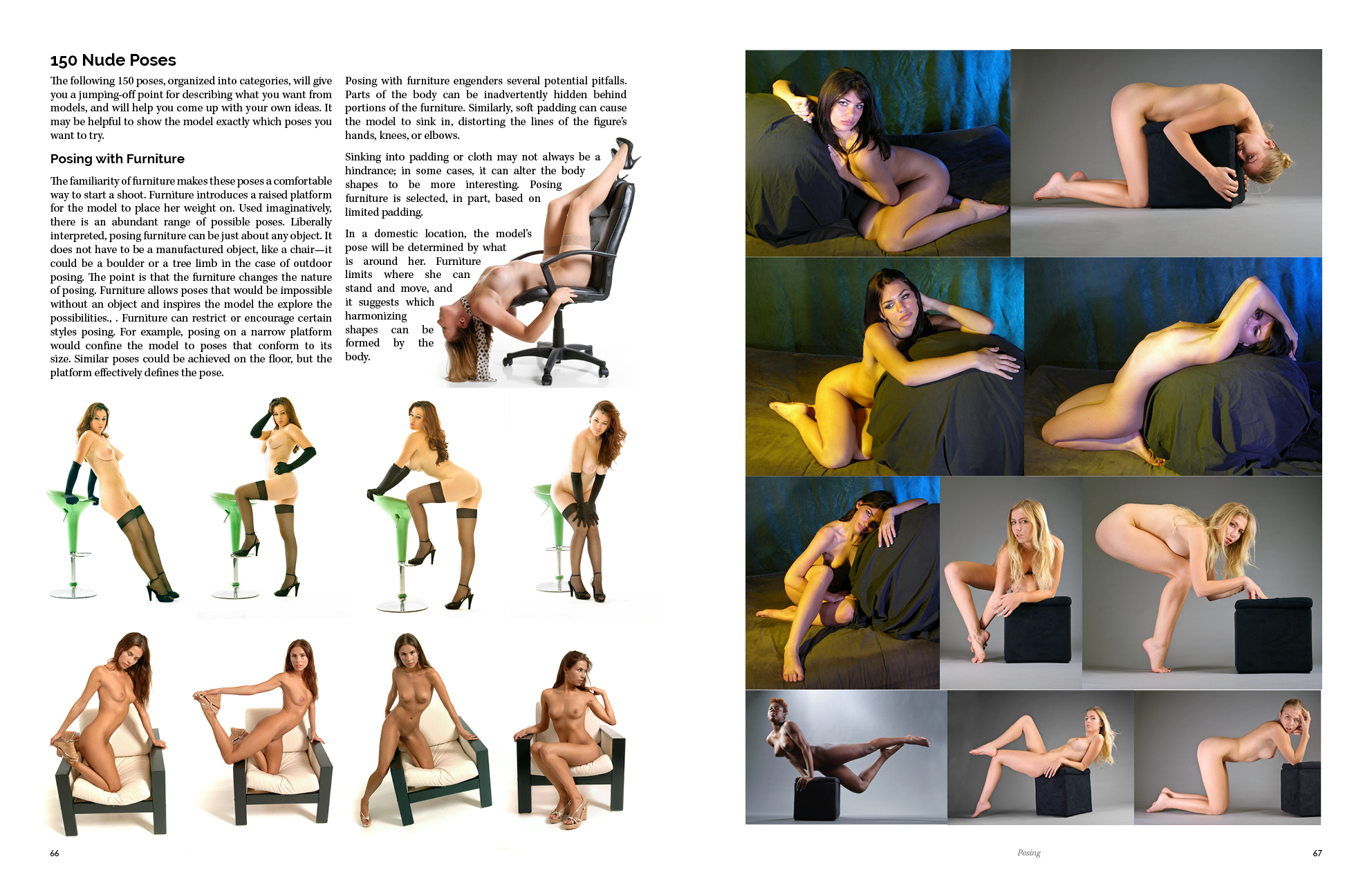 Learn nude photography instructional book posing guide