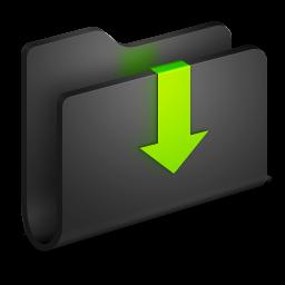 downloads-black-folder-icon